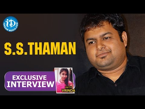 Music Director S S Thaman Exclusive Interview || Talking Movies with iDream #22