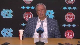 UNC Men's Basketball: Roy Williams Post Duke Press Conference