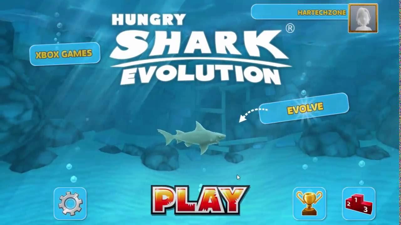 hungry shark evolution hack para windows phone