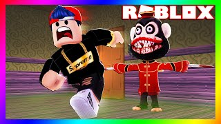 ROBLOX Trying to Escape the Psycho Monkey!