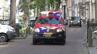 Fire brigade and ambulance service respond to a person in the river near Gorinchem