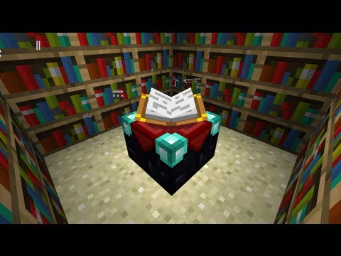 Best Way To Make An Enchanting Room Minecraft