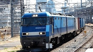 2019/04/18 【試作機】 JR貨物 2071レ EH200-901 大宮駅 | JR Freight: Cargo by EH200-901 at Omiya