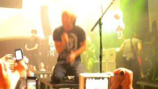 A party song, the walk of shame - All Time Low live @debaser, sthlm