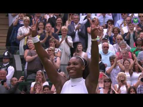 The moment Serena equalled history