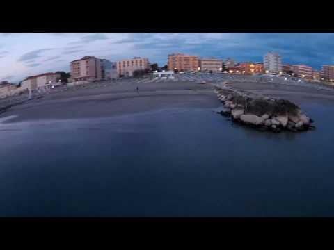 Misano Adriatico Sunrise with fpv drone
