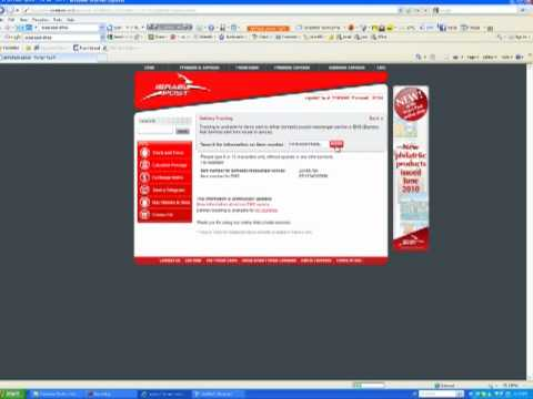 How to track item israel post office youtube - Post office tracking item ...