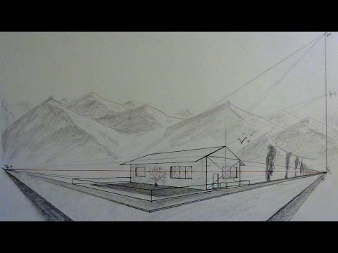 Perspektive + Schatten richtig setzen bei einem Haus mit Dach