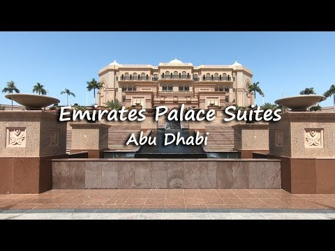 Emirates Palace Suites Hotel Tour | Abu Dhabi, UAE