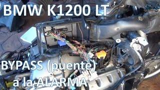 Proyecto BMW K 1200 LT. Un Paso Más Adelante, Haciéndole Un BYPASS (puente) A La Alarma.