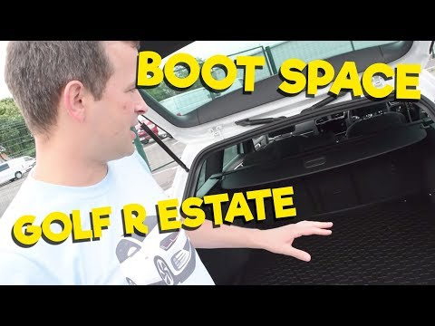 005 | Is the VW Golf R Estate Practical? | SO MUCH SPACE