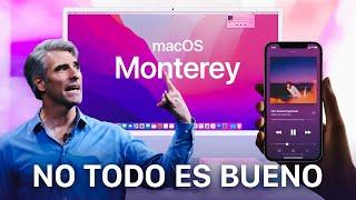 macOS Monterey, todo lo que DEBES SABER y NO TE HAN CONTADO 🔥