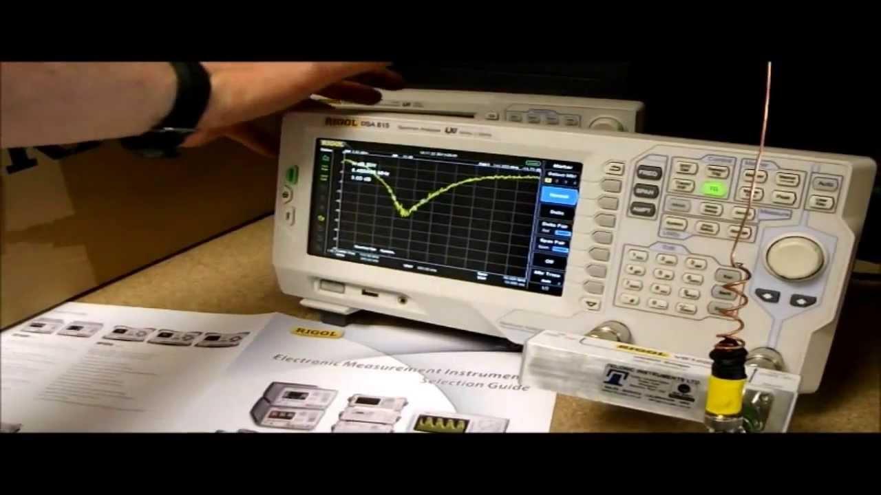 RIGOL DSA815 VSWR blunder   whip antenna tips - How to test with VB1020  VSWR Bridge correctly