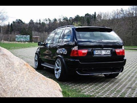 BMW X5 E53 Tuning, Snow, Drift, Exhaust Sound ( PART 1 )