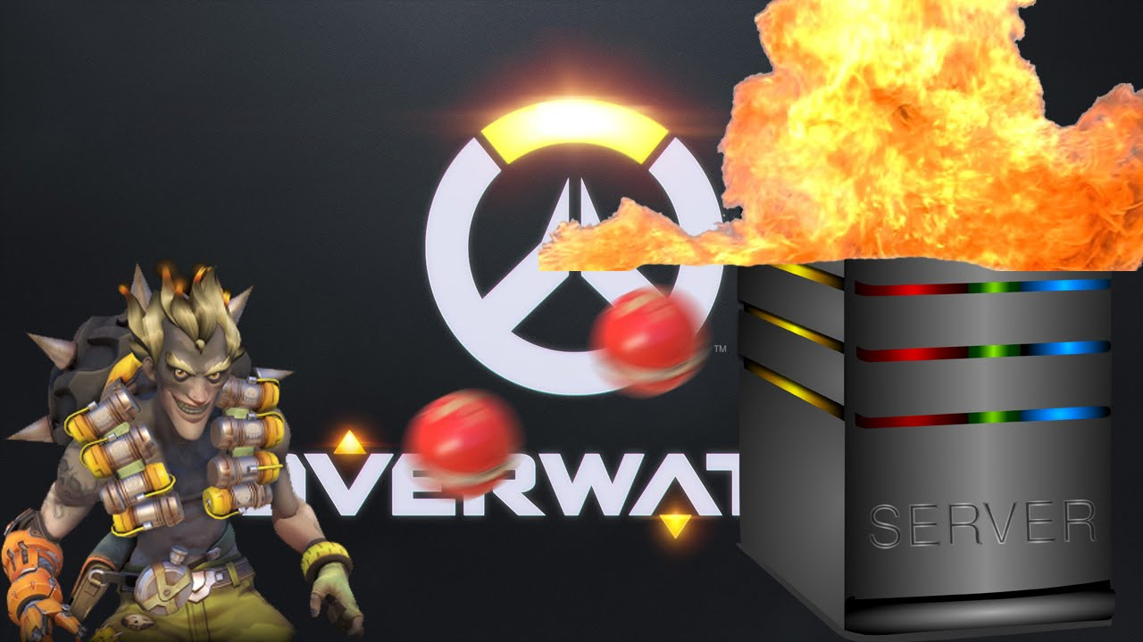 Blowing Up The Overwatch Servers! (Overwatch)
