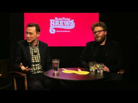BuzzFeed Brews with Seth Rogen, Joseph Gordon-Levitt and Anthony Mackie