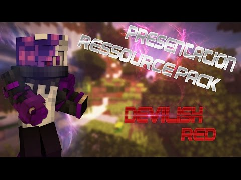 Présentation De Resources Packs | Devilish Red ~ Ep. #3 ! [FR]