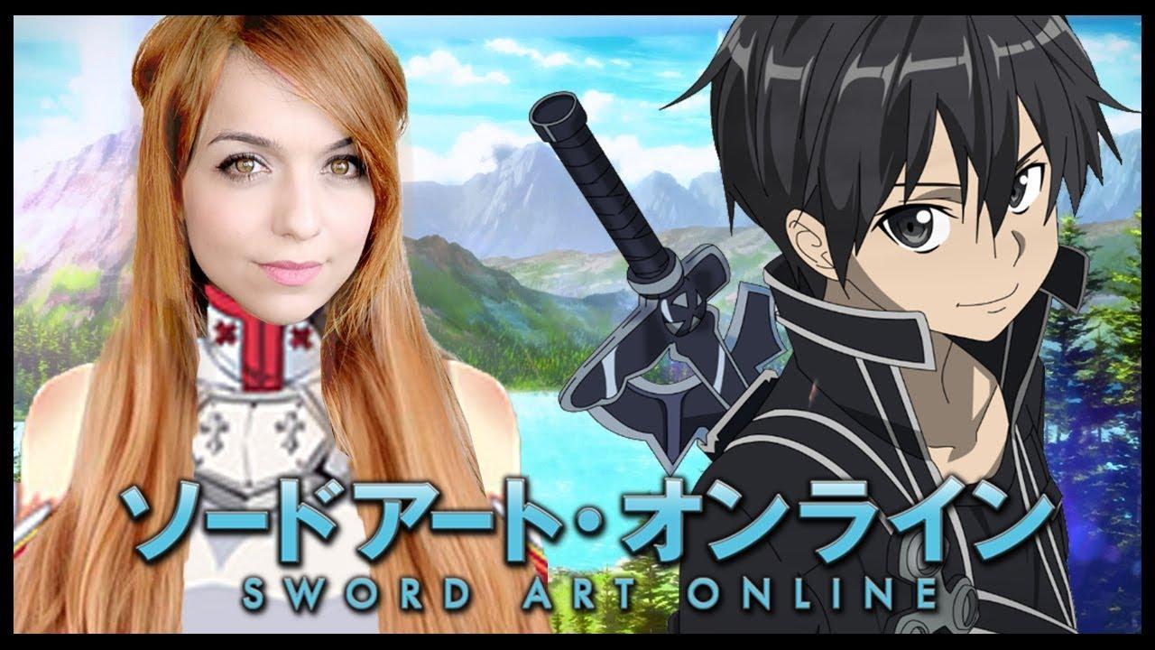 a primeira abertura de sword art online