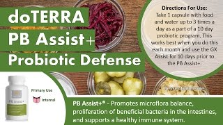How To Use The DoTERRA PB Assist Probiotics
