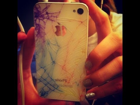 cracked rainbow iphone 5 case