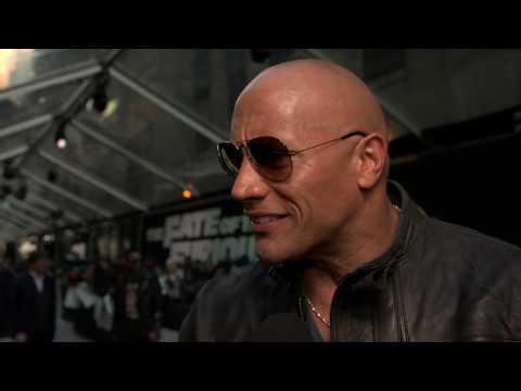 The Fate Of The Furious Dwayne Johnson New York Premiere Interview