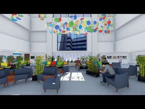 Animated Tour of Mary Free Bed's New Atrium