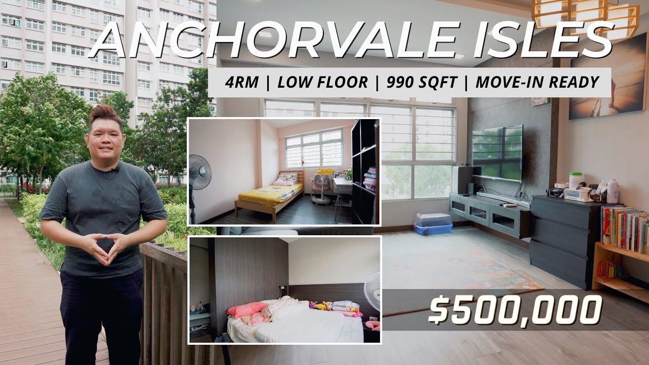 Sengkang Anchorvale Isles 4RM HDB For Sale - Singapore HDB Property Listing | Kelvin Cheong