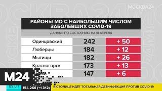 За последние сутки зафиксировали более 400 случаев заражения коронавирусом в Подмосковье