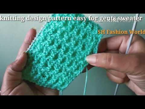 Beautiful Easy Knitting Design In Hindi Knitting Design For