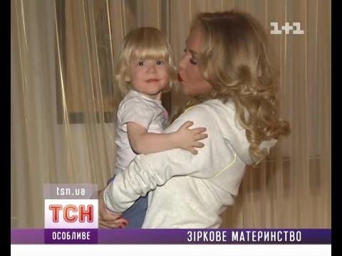 Впервые показала своего сына Малиновская