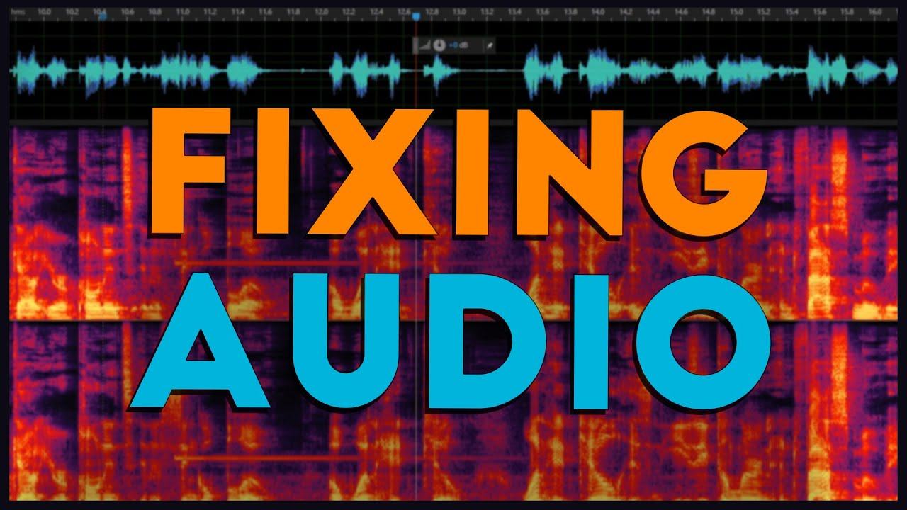 Does Your Audio Have Nasty Background Noise? Here's How to Clean It