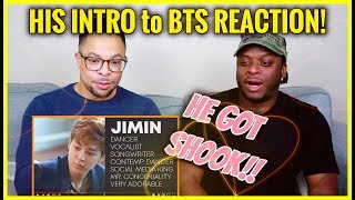 a GENUINE REACTION to INTRODUCTION TO BTS - Episode 1 Bulletproof