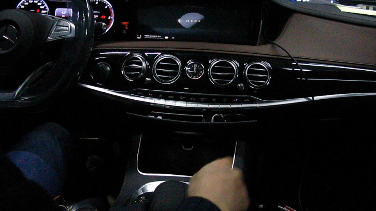 Mercedes Benz 2017 W222 S-Class Android Sat Touch ...