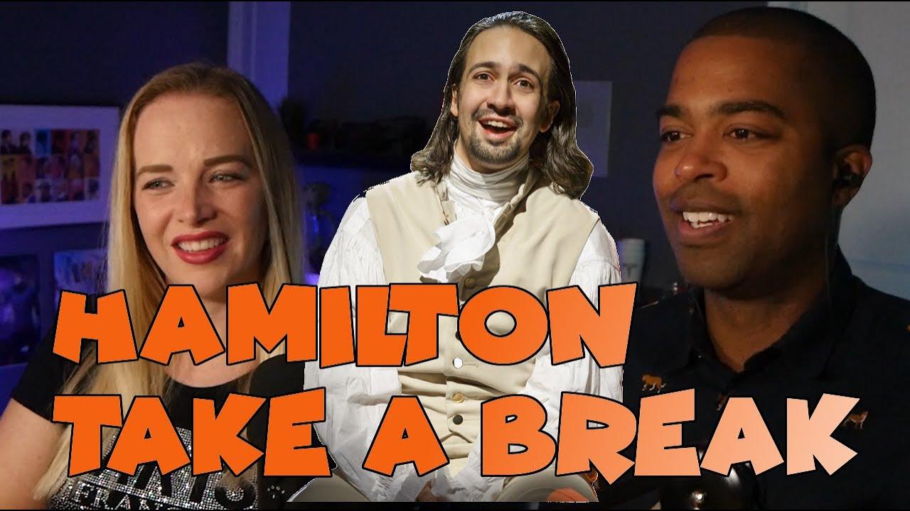 Couple React Hamilton theatrical performance - Take a Break - REACTION 🎵