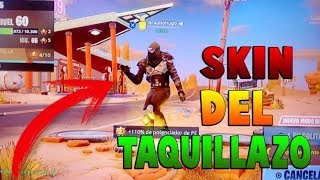 **REVEALED** THE HIDDEN SKIN OF THE ROAD TRAVEL TAQUILLAZO!! SKIN FREE FORTNITE SEASON 5