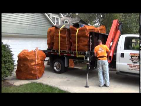 Firehouse Logs Big Bag Delivery