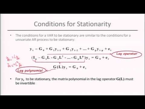Module 5: Session 4: Stationary Vector AutoRegreSsion (VARs)