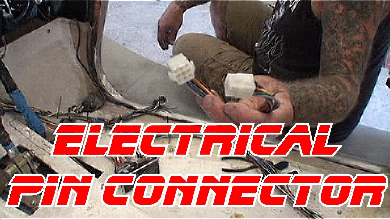 Automotive Electrical-How To Use A Wire Pin Connector-D.I.Y. - YouTube