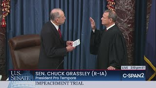U.S. Senate: Swearing-in of Chief Justice & Senators - CSPAN