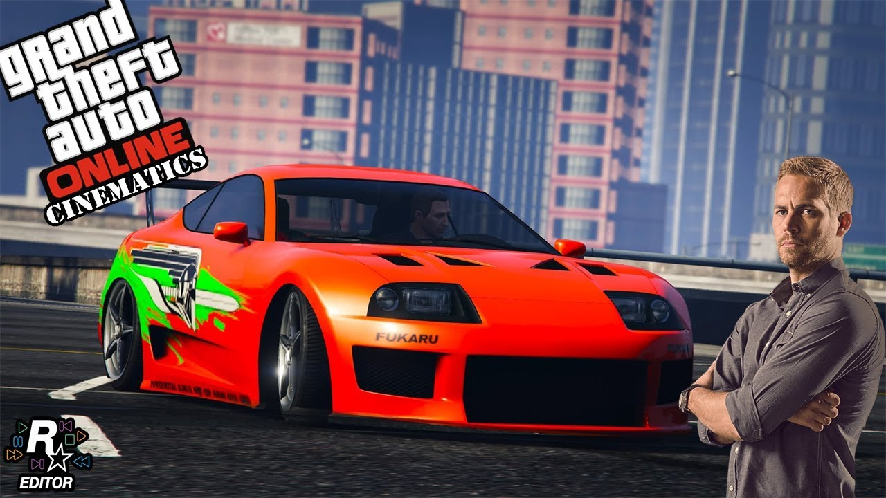 gta 5 10 seconds car paul walker supra fast furious 1 rh youtube com