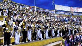 Patria Marching Band  & Bethel Marching Band Honduras 2011 DJ Got Us Fallin' In Love