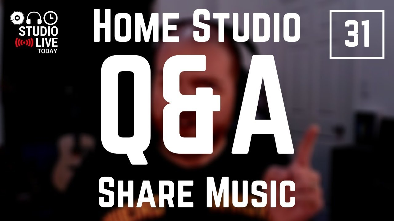 Share your music | Home Studio Q&A #31 - YouTube