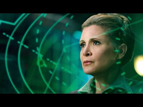 Carrie Fisher (Not With CGI) To Appear In Star Wars Episode 9