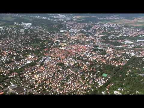Luftportrait Reutlingen