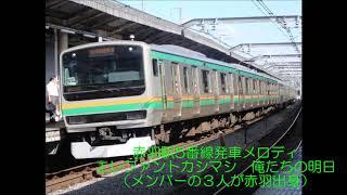 赤羽駅5・6番線発車メロディ
