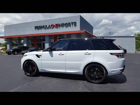 2017 Range Rover HSE Sport Dynamic - For Sale - Formula One Imports Charlotte