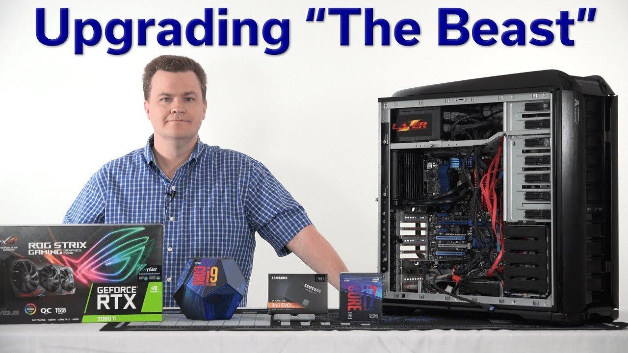 i7-2600K in 2019? — The 4 5GHz Beast — RTX 2080 TI / 1TB SSD / BeQuiet Case  + PSU