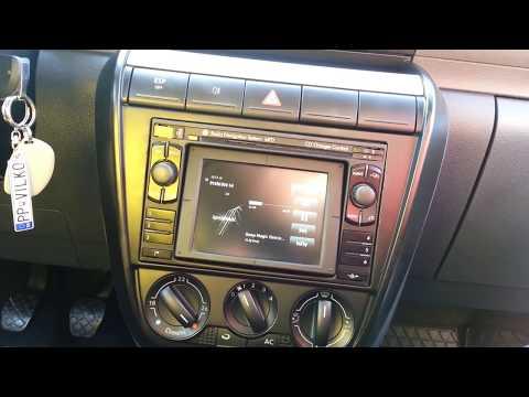 VW FOX - MFD navi DX video + audio by AUX / multimedia interface VW /