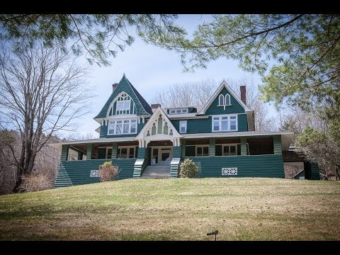 #35285 - Catskills Dreamhouse - 1905 Victorian Mansion with 7 fireplaces