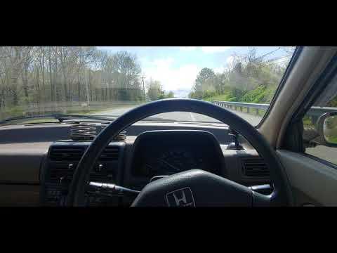 1990 Honda Today 4WD Keicar POV Drive